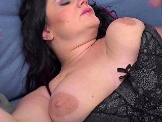 Fat Mature Patrizia In Stockings Gets Balls Deep Penetrated