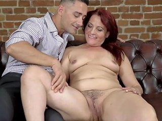 Lustygrandmas Saggy Granny Is Horny For Young Dick