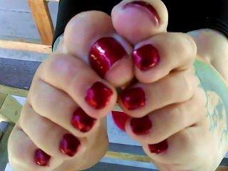 BBW Sexy Girl Feet